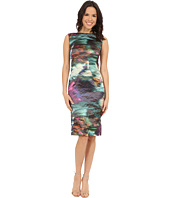 Nicole Miller - Metal Motion Blur Midi Dress