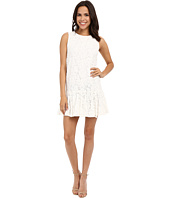 Karen Kane - Lace Ruffle Hem Dress