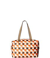 Orla Kiely - Poppy Cat Print Big Zip Shopper