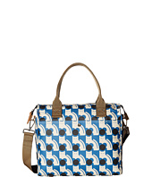 Orla Kiely - Poppy Cat Print Zip Messenger