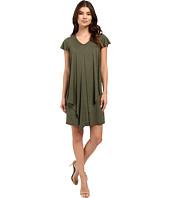 kensie - Drapey French Terry Dress KS2K7531