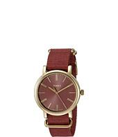 Timex - Originals Tonal Marsala Nylon Slip-Thru Strap