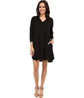 Allen Allen - 3/4 Sleeve Shirtdress