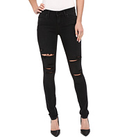Paige - Verdugo Ultra Skinny in Black Fog Destructed