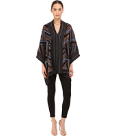 Just Cavalli - Lurex Knit Chevron Poncho