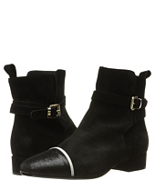 Just Cavalli - Laminated Crackle Low Heel Ankle Bootie