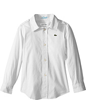 Lacoste Kids - Long Sleeve Oxford Woven Shirt (Little Kids/Big Kids)