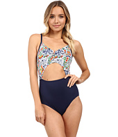 Tommy Bahama - Provincial Cut Out Cup One-Piece