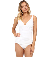 Tommy Bahama - Pearl Over Shoulder V-Neck Cup One-Piece