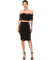 Philipp Plein - Off the Shoulder Open Mid Dress
