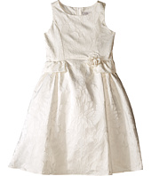 Us Angels - Floral Brocade Ballerina Length Dress (Big Kids)