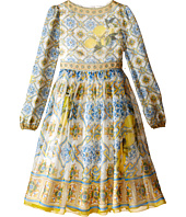 Dolce & Gabbana Kids - Medallion Print Dress (Big Kids)