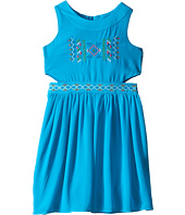 Us Angels - Georgette Tank Ringer w/ Cut Out Bodice & Full Skirt (Big Kids)