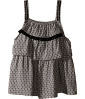IKKS - Printed Top with Adjustable Embroidered Straps (Little Kids/Big Kids)