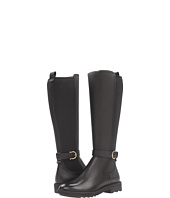 Salvatore Ferragamo - Tall Pebbled Leather Boot