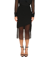 Prabal Gurung - Chiffon Combo Pencil Skirt