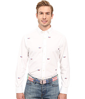 Vineyard Vines - Flag Whale Embroidered Slim No Pocket Shirt