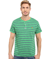 U.S. POLO ASSN. - Slim Fit Stripe Slub Henley T-Shirt
