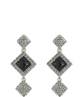 Oscar de la Renta - Geometric Resin Pave P Earrings