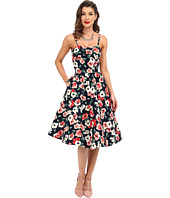 Unique Vintage - Darcy Fit & Flare Sweetheart Dress