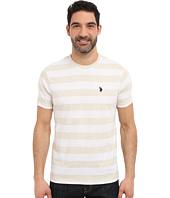 U.S. POLO ASSN. - Stripe Crew Neck T-Shirt