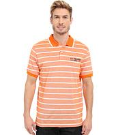 U.S. POLO ASSN. - Embellished Pencil Stripe Polo Shirt