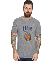 The Original Retro Brand - Miller Lite Short Sleeve Tri-Blend T-Shirt