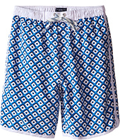 Toobydoo - White Lace Drawstring Boardshorts/White Lining (Infant/Toddler/Little Kids/Big Kids)