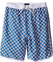Toobydoo - White Lace Drawstring Boardshorts/White Lining (Infant/Toddler/Little Kids/Big Kids)