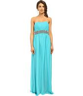 Calvin Klein - Strapless Gown with Sequin at Waist CD6B2ZRZ