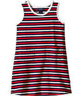 Toobydoo - Tank Dress Navy/Red/White Stripe (Infant/Toddler)