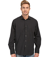 BUGATCHI - Black Jack Classic Fit Long Sleeve Woven Shirt