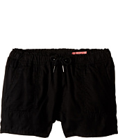 Blank NYC Kids - Linen Shorts in Near Dark (Big Kids)