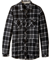 O'Neill Kids - Glacier Check Long Sleeve Shirt (Big Kids)