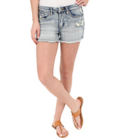 Blank NYC - High Rise Denim Distressed Shorts