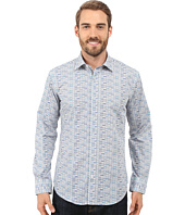 BUGATCHI - Lake Como Shaped Fit Long Sleeve Woven Shirt