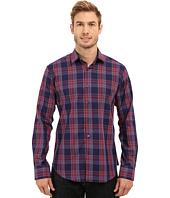 BUGATCHI - Sicily Shaped Fit Long Sleeve Woven Shirt