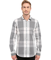 BUGATCHI - Sienna Shaped Fit Long Sleeve Woven Shirt