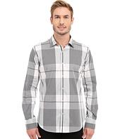 BUGATCHI - Sienna Shaped Fit Long Sleeve Woven Shirt
