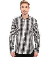 BUGATCHI - Modena Shaped Fit Long Sleeve Woven Shirt