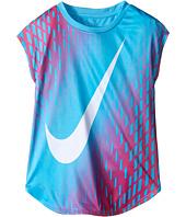 Nike Kids - Swoosh™ Gradient Dri-FIT™ Tee (Little Kids)