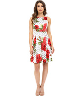 Jessica Simpson - Printed Bow Back Dress