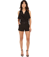 Brigitte Bailey - Quinn Collared Romper with Belt
