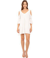 Brigitte Bailey - Analia Cold Shoulder Dress with Lace Detail