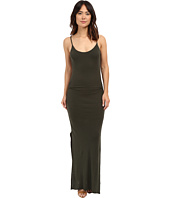 Three Dots - Rosina Shirred Maxi Dress