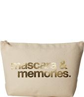 Dogeared - Mascara & Memories Gold Foil Lil Zip