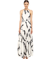 ZAC Zac Posen - Palm Printed Maeve Maxi Dress
