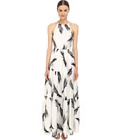 ZAC Zac Posen - Palm Printed Maeve Maxi Dress