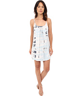 Gypsy05 - Spaghetti Strap Cross Back Mini Dress