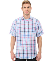 Thomas Dean & Co. - Short Sleeve Woven Classic Check